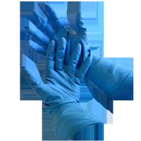 Examination Gloves - High Risk Blue