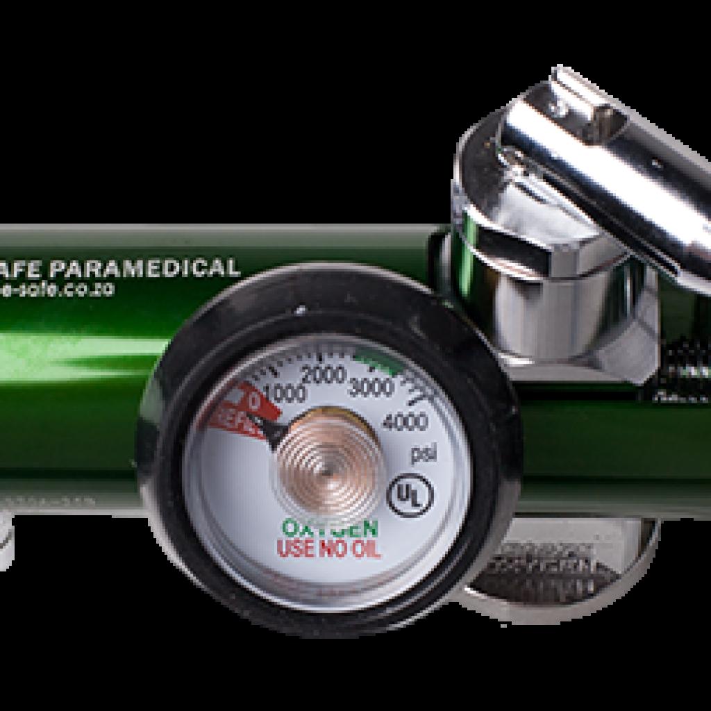 O2 Reg. Dial Flow - Pin Index 0-25lLPM