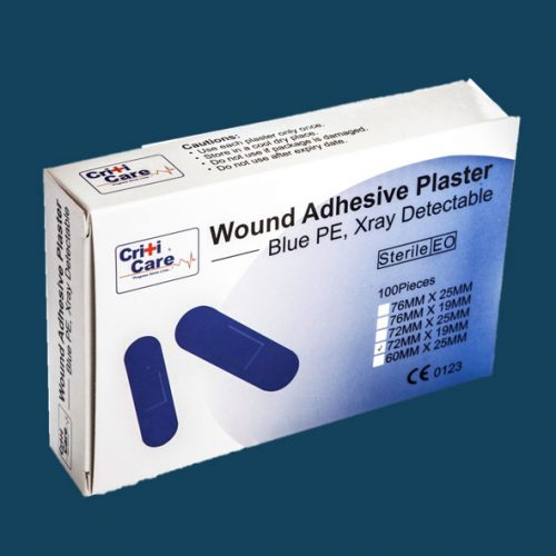 CritiCare-Blue-Xray-Detectable-Plasters-(100)