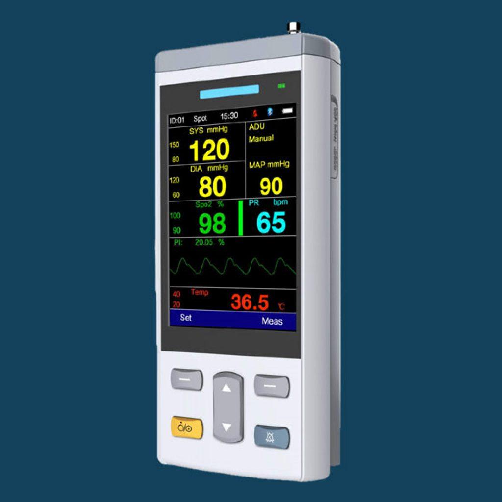 PC100-Handheld-Vital-Signs-Monitor