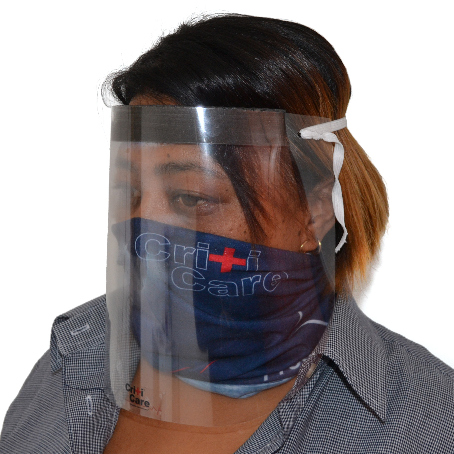 CritiCare® SafeShield Face Protector, pack of 50